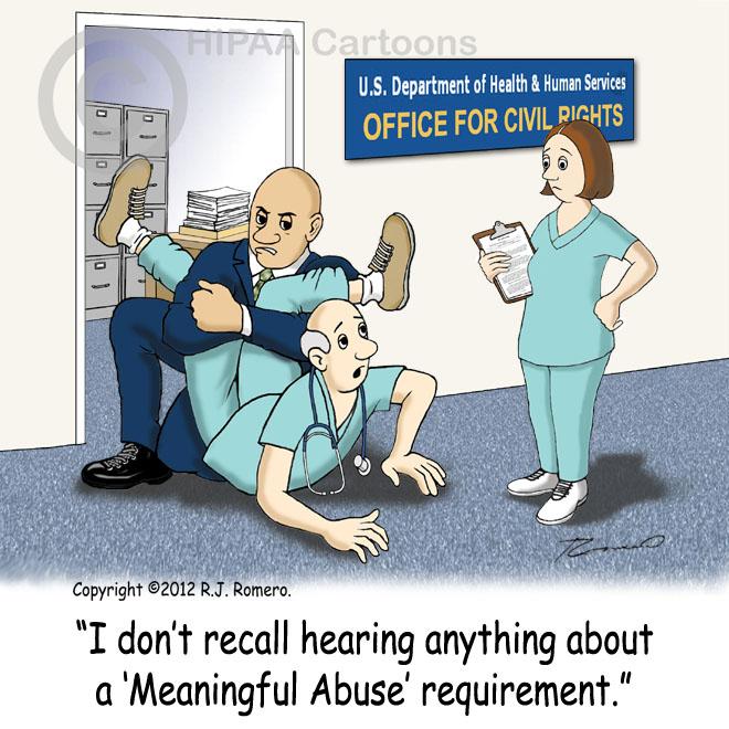 Cartoon-Doctor-in-OCR-office-wrestling-with-officer_emr119