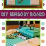 DIY Sensory Activity Board