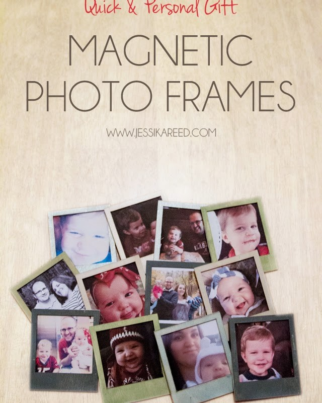 Quick & Personal Gift Magnetic Photo Frames
