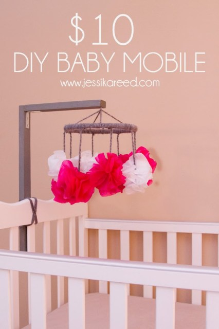 $10 DIY Baby Mobile