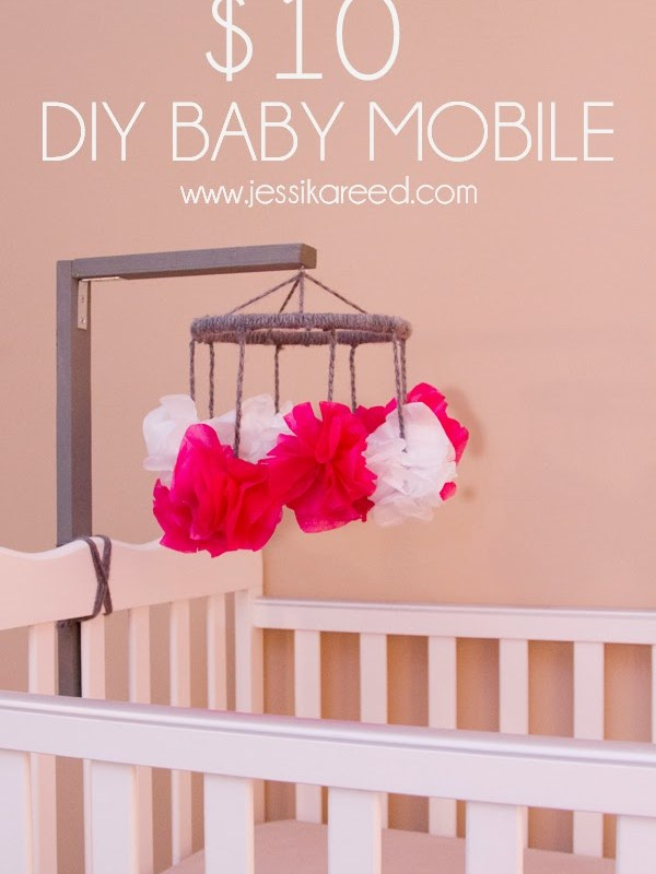 $10 DIY Baby Mobile