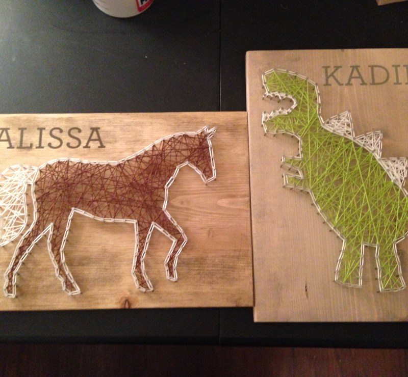 How To Make String Art