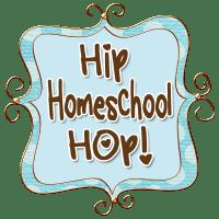 Hip Homeschool Hop Button