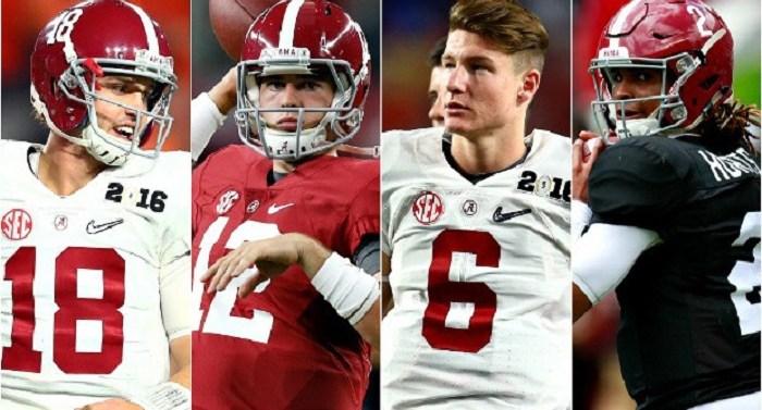 Alabama Quarterbacks