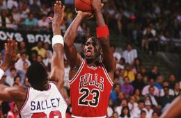 Salley better be careful before Jordan styles on him again.