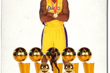 He has been hogging all the trophies for sometime now, and with D12 in the fold, Kobe can get right back to the money. (Not pictured: 2011 All-Star MVP, 2012 Olympic Gold Medal)