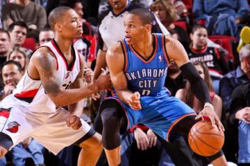 OKC has owned this division, but will their injuries open the door for Portland?
