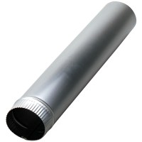 "DEFLECTO DP245 | Aluminum Pipe (5"" x 24"" with snap-lock ..."