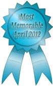 most memorable ribbon april 2012