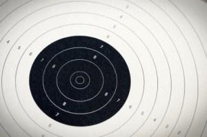 rifle range paper target
