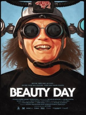 cover of beauty day featuring picture of Ralph Zavidil in helment and goggles