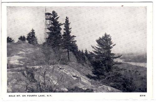Bald Mt NY / HipPostcard
