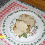 Lina's Giant Meatball with Porcini Cream Sauce - Reader Recipes