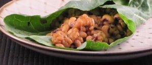JL's Pressure Cooker Farro & Beans in Collard Green Wraps - Reader Recipes