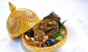 Pressure Cooker Moroccan Lamb Tajine