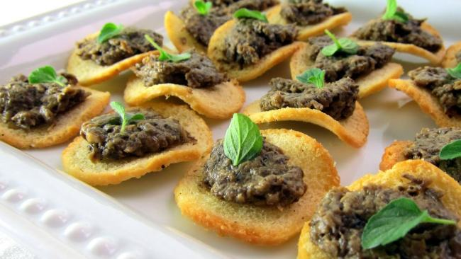 pressure cooker porcini mushroom pate slide