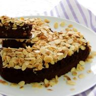 Borlotti Bean Brownie Cake - for the LOVE of beans!