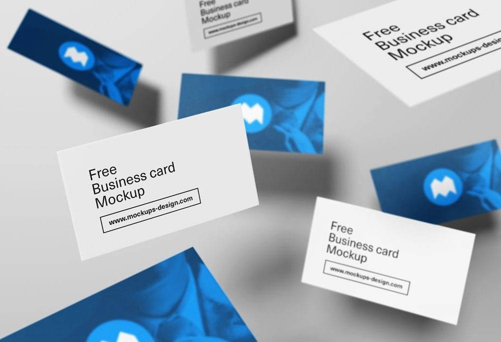 20 Free Unique Business Cards With Free PSD Mockups - Hipsthetic