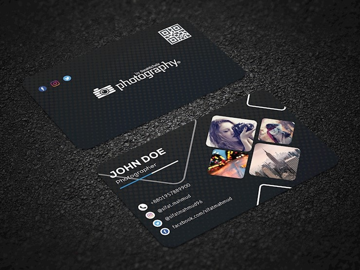 20 Creative Examples of Photography Business Card Designs - Web