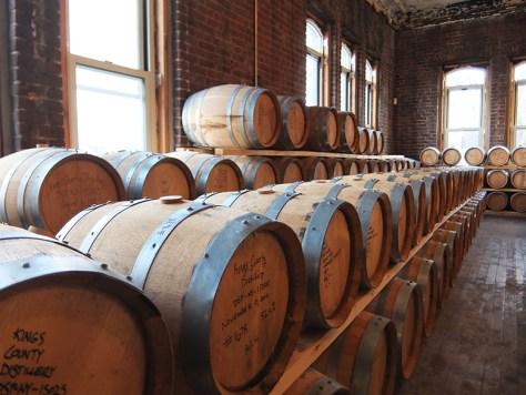Kings County Distillery Barrel Room - Hipstorical