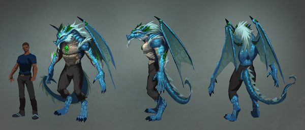 Dragon template \u2013 Hire an Illustrator - character model template