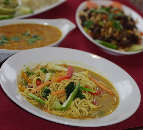 Gurkha Kitchen Thukpa Tibetan soup