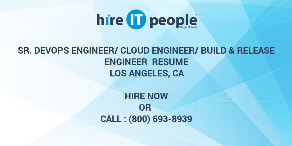 Sr DevOps Engineer/Cloud Engineer/Build  Release Engineer Resume