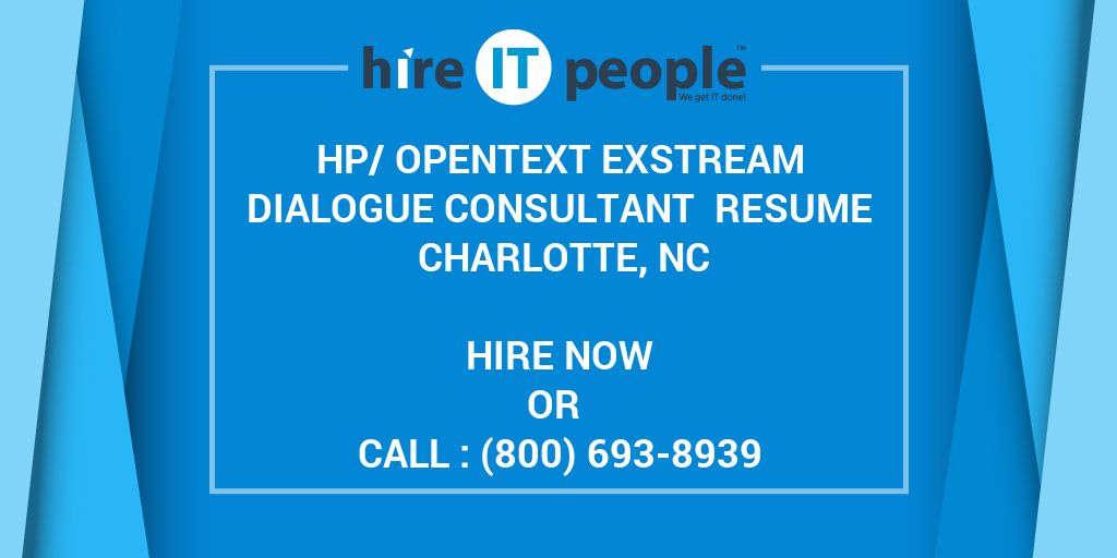 resume consultant charlotte nc