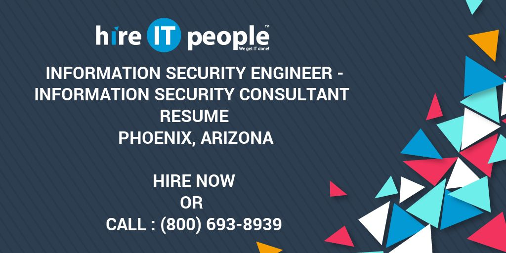 Information Security Engineer - Information Security Consultant