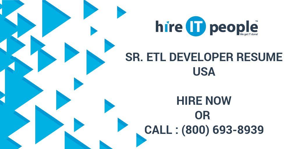 Etl Developer Resume Cover Letter - ssrs sample resume