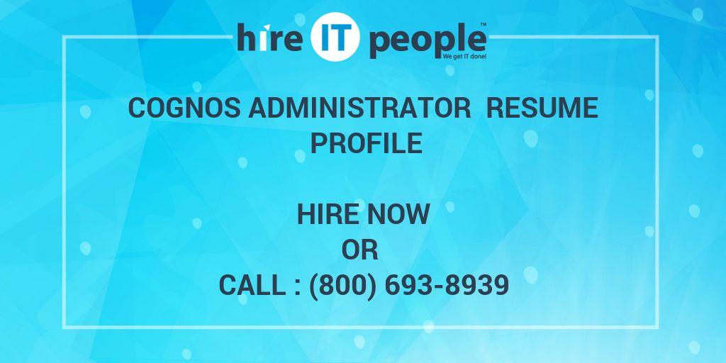 Cognos Tester Resume Cognos Tester Resume Manoj Resume Mahesh - cognos administrator sample resume