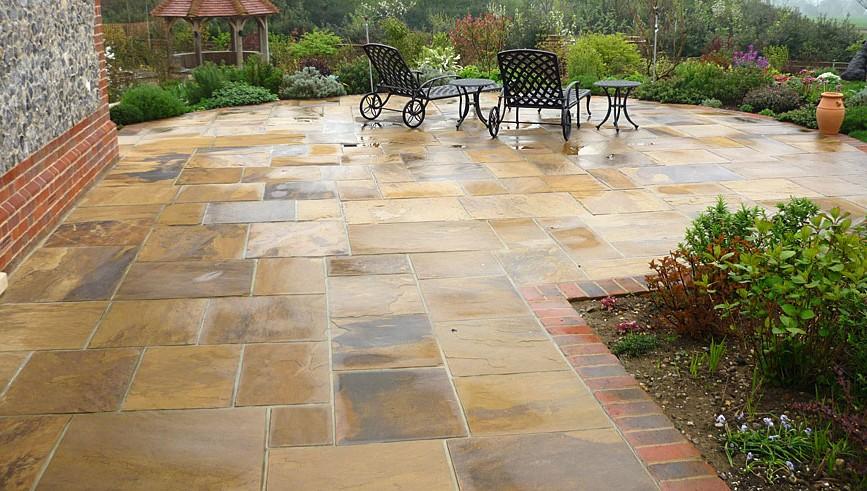 Nice Natural Stone Patio Design Ideas Patio Design 257