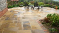 Nice Natural Stone Patio Design Ideas - Patio Design #257
