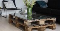 DIY pallet coffee table | HireRush Blog