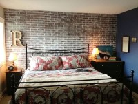 How To Faux Brick Wall - 5 ways to DIY