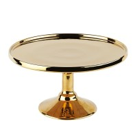 Cake Stand - Gold - Hire Society