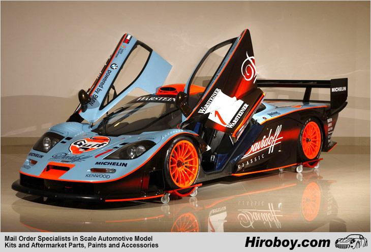 Dukes Of Hazzard Car Wallpaper 1 24 Mclaren F1 Gtr Long Tail 1997 1 Quot Gulf Team