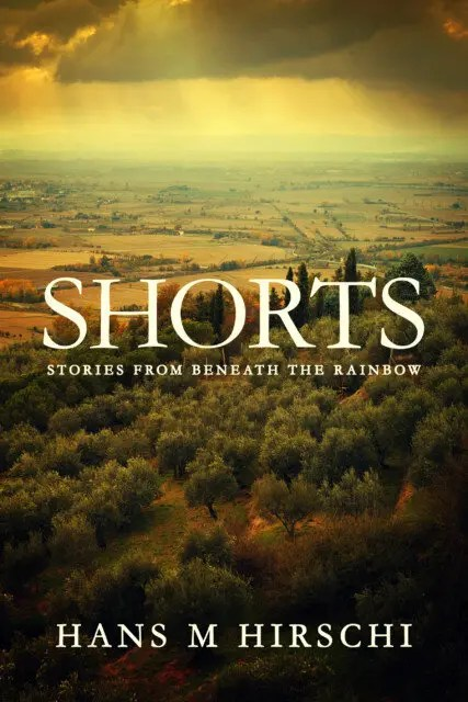 The cover for my new book, coming in July. Shorts - Stories from Beneath the Rainbow
