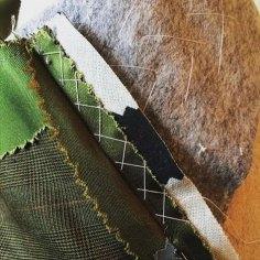 Inner Workings featuring Silk, Wool and Horsehair