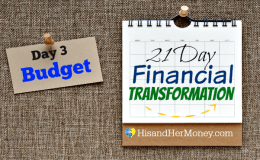 Day 3: Budget (21 Day Financial Transformation)