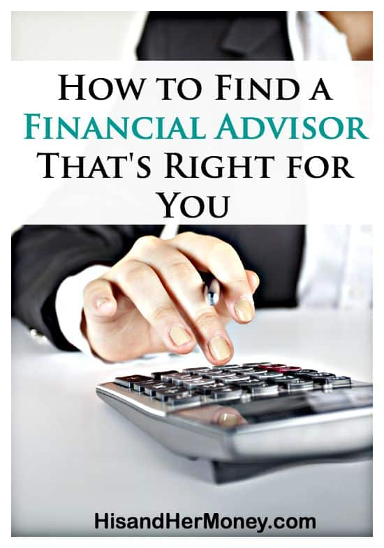 How To Find A Financial Advisor Thats Right For You