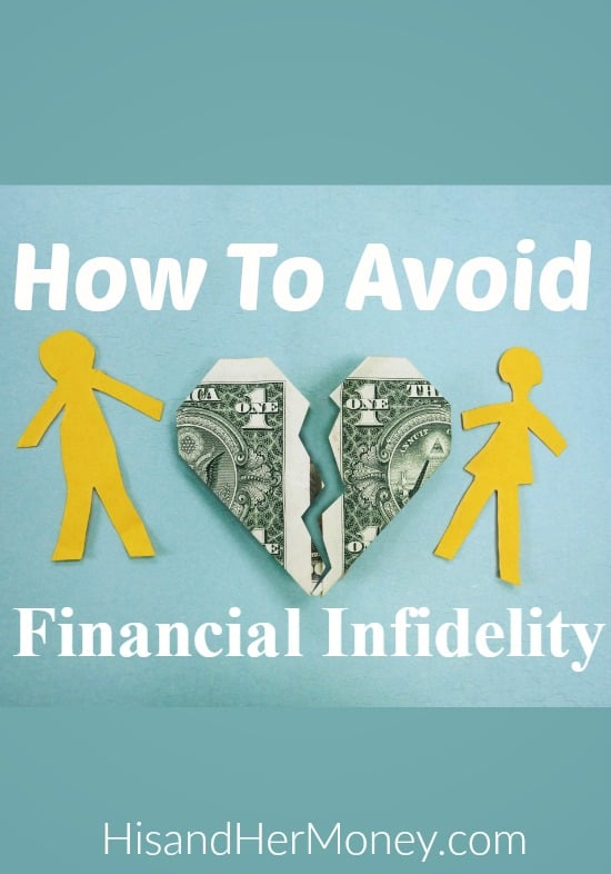 Avoid Financial Infidelity