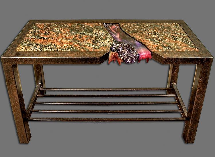 Hiscox art furnishings gallery furniture tables
