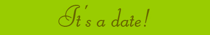 &quot;It's a date&quot; blog post banner