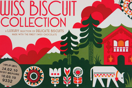 Marks &amp; Spencer 125th anniversary commemerative biscuit tin designed by Sanna Annukka
