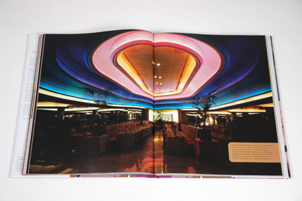 page from the book, &quot;70s Style &amp; Design&quot; showing a neon ceiling