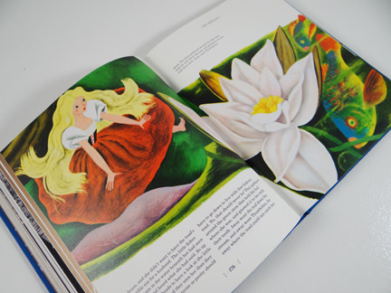 Thumbelina illustration from TASCHEN's Hans Christian Andersen Fairy Tales