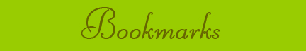 &quot;Bookmarks&quot; bog post banner