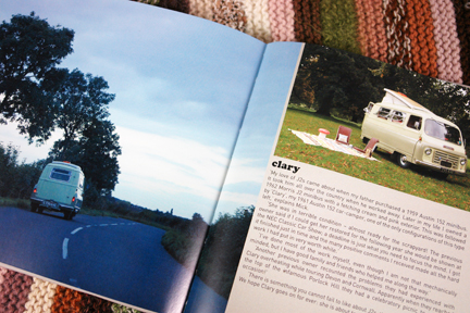 page in My Cool Campervan featuring an Austin 152 car camper