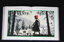 illustration for the Red Riding Hood story